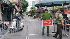 Hà Nội: Cách ly y tế toàn bộ phường Chương Dương 14 ngày