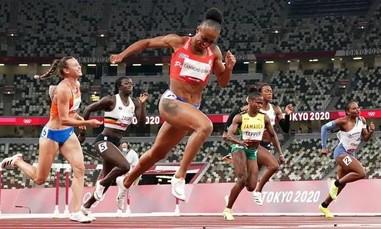 VĐV Puerto Rico phá kỷ lục 100m vượt rào ở Olympic