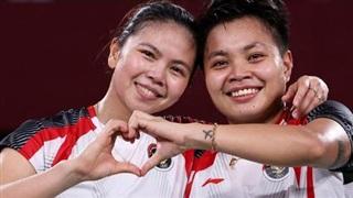 Hạ 'gã khổng lồ' Trung Quốc, cầu lông Indonesia giành tấm HCV lịch sử ở Olympic Tokyo 2020
