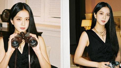 Jisoo (BLACKPINK) hiếm lắm mới diện váy xẻ khoe vòng 1 'mất máu', visual và khí chất 'Hoa hậu Hàn Quốc' bỗng thay đổi hẳn