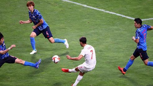 Tây Ban Nha kết liễu Nhật Bản bằng siêu phẩm ở hiệp phụ, thẳng tiến vào chung kết Olympic