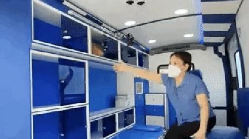 Xem Việt Hương review xe cứu thương 2,5 tỷ tặng ông Đoàn Ngọc Hải: Như trạm y tế mini, nhiều trang bị hiện đại