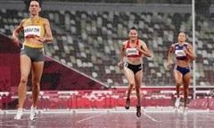 Quách Thị Lan dừng bước ở bán kết 400m rào