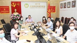 Bộ Y tế họp tham vấn chuyên gia quốc tế nhằm sớm phát triển thành công vaccine COVID-19 'Made in Viet Nam'