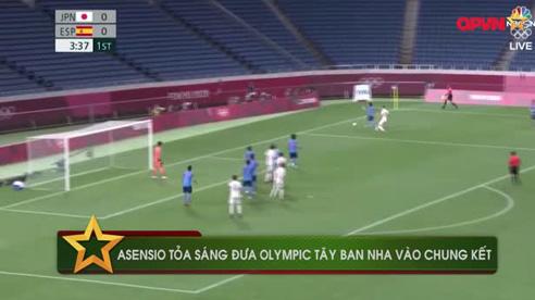 Asensio tỏa sáng đưa Olympic Tây Ban Nha vào chung kết