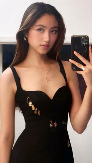 Con gái 'ông trùm showbiz Hong Kong': Đẹp ấn tượng, 17 tuổi cao 1,8m, chân dài miên man
