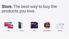 Apple đưa ra bản thiết kế mới cửa hàng trực tuyến Apple Store