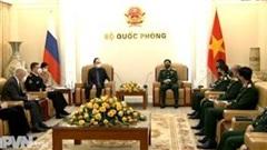 Tiếp tục vun đắp hợp tác quốc phòng Việt - Nga