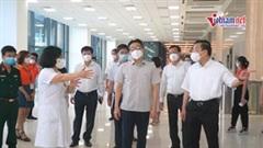 Phó Thủ tướng Vũ Đức Đam kiểm tra công tác tiêm vắc xin ở Hà Nội