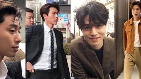 Thử chụp lén dàn tài tử Hàn: Hyun Bin khí chất nghẹt thở, Lee Min Ho chân siêu dài, Lee Dong Wook - Park Seo Joon đẹp 'điên lên'