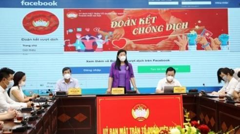 Hà Nội ra mắt Fanpage 'Đoàn kết chống dịch'