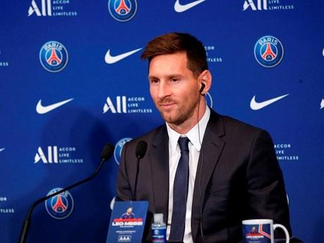 Messi: Tôi là người tham vọng và đến PSG để giành chiến thắng