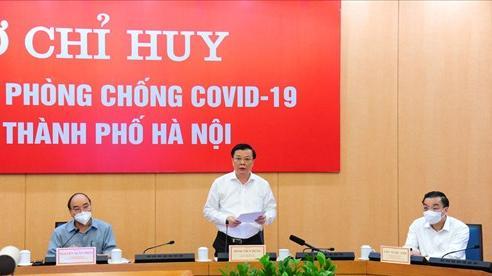 Bí thư Thành ủy Hà Nội Đinh Tiến Dũng: Đoàn kết, quyết tâm hơn nữa để đẩy lùi dịch bệnh