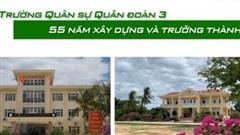 Trường Quân sự Quân đoàn 3 - 55 năm xây dựng và trưởng thành