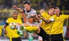 Video trận Lewandowski thăng hoa, giúp Bayern đoạt siêu cúp Đức
