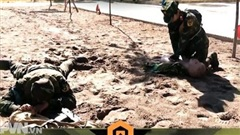Đổi tuyển Tiếp sức Quân y tham gia Army Games 2021