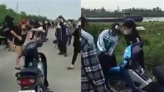 SỐC: 2 nữ sinh Ninh Bình cầm đầu 2 nhóm 50 người hỗn chiến bằng dao
