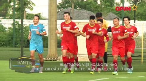HLV Trương Việt Hoàng bất ngờ khi Nguyên Mạnh lên tuyển