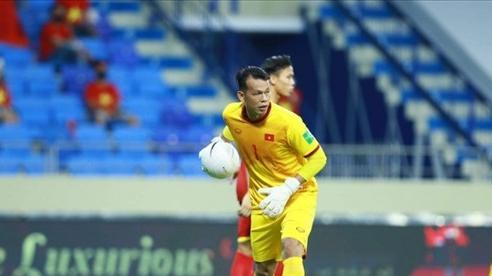 Thủ môn Tấn Trường lọt top 4 cầu thủ hay nhất vòng loại World Cup 2022
