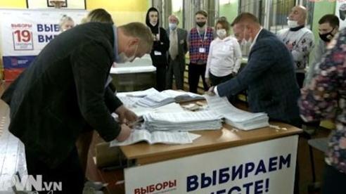 Kết quả sơ bộ bầu cử Duma Quốc gia Nga