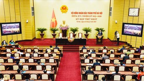 Ngày mai, khai mạc kỳ họp thứ hai, HĐND thành phố Hà Nội khóa XVI