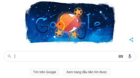 Google 'rước đèn' mừng Tết Trung thu trên trang chủ