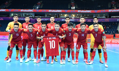 Tuyển Futsal Việt Nam dừng bước ở vòng 1/8, ngẩng cao đầu rời giải