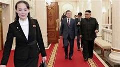 Em gái ông Kim Jong Un bất ngờ khen ý tưởng của TT Hàn Quốc