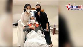 Nghệ sĩ saxophone Trần Mạnh Tuấn cười tươi, hồi phục diệu kỳ sau bạo bệnh
