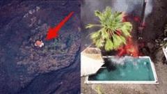 Ngôi nhà tạo nên kỳ tích, đứng vững giữa dung nham nóng chảy ở La Palma
