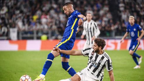 Juventus đánh bại nhà ĐKVĐ Chelsea