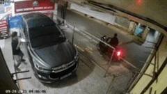 Trộm vào nhà vặt đôi gương chiếu hậu ô tô chỉ 5 giây
