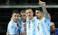 Đánh bại Brazil, Argentina gặp Bồ Đào Nha ở chung kết Futsal World Cup