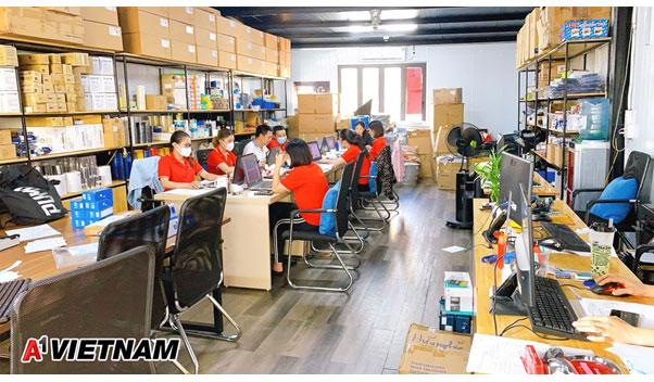 Kho vật tư phòng sạch của A1 Việt Nam