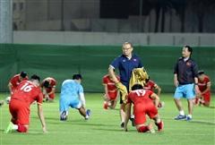 ĐT Việt Nam vượt qua áp lực tâm lý trước trận đấu với ĐT Trung Quốc
