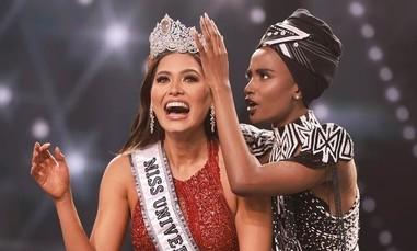 Video khoảnh khắc lên ngôi của tân Hoa hậu Hoàn vũ