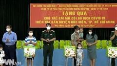 Chăm lo cho trẻ em mồ côi ở TP. Hồ Chí Minh