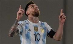 Messi ghi bàn giúp Argentina thắng đậm Uruguay