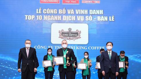 TNI King Coffee được vinh danh Top 10 Thương hiệu Mạnh Việt Nam 2020 - 2021