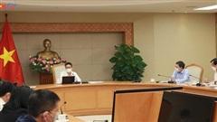 Phó Thủ tướng Vũ Đức Đam làm việc với các đơn vị về phương án khôi phục lại các hoạt động du lịch trong thời gian tới