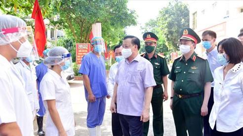 Chỉ thị của Ban Thường vụ Thành ủy Hà Nội về tăng cường lãnh đạo thực hiện thích ứng an toàn, linh hoạt, kiểm soát hiệu quả dịch Covid-19