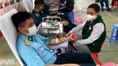 Học viện PK-KQ đóng góp gần 600 đơn vị máu tình nguyện