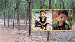Gia đình thông tin chi tiết lạ trong đêm bé trai 2 tuổi mất tích bí ẩn: Có thấy đồ liên quan bé ở rừng cao su gần nhà