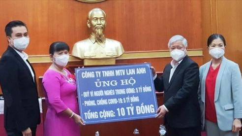 Vượt gần 2.000km, doanh nhân Nguyễn Nam Phương ủng hộ phòng chống dịch Covid-19 và giúp đỡ người nghèo