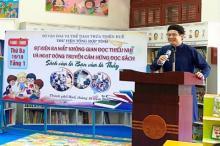 Khai trương không gian đọc và hoạt động truyền cảm hứng đọc sách cho các em Thiếu nhi tại Thư viện Tổng hợp tỉnh Thừa Thiên Huế