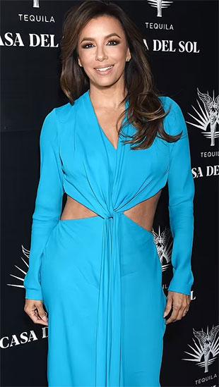 Minh tinh Demi Moore 'đọ dáng' với Eva Longoria