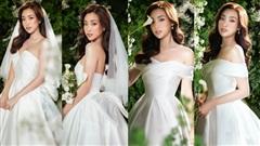Đỗ Mỹ Linh hóa cô dâu khoe vẻ đẹp hút hồn trong loạt váy cưới của NTK Lê Thanh Hoà