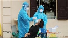 Hà Nội thêm 5 ca dương tính SARS-CoV-2 tại chuỗi lây nhiễm Quốc Oai