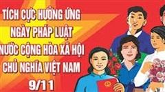 Hà Nội tổ chức đợt cao điểm tuyên truyền Ngày Pháp luật