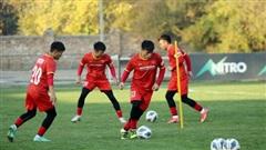 U23 Việt Nam sẵn sàng cho trận gặp U23 Đài Bắc Trung Hoa
